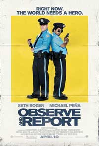 Observe and Report - 43 x 62 Movie Poster - Bus Shelter Style B