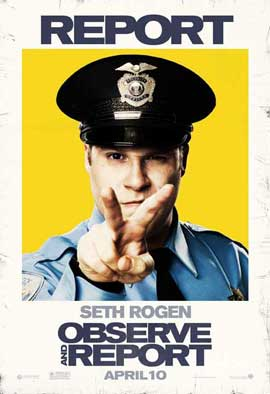 Observe and Report - 11 x 17 Movie Poster - Style C