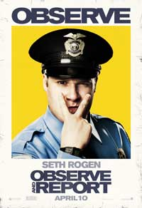 Observe and Report - 43 x 62 Movie Poster - Bus Shelter Style D