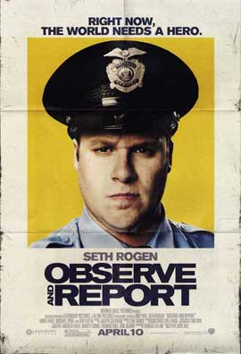 Observe and Report - 11 x 17 Movie Poster - Style E