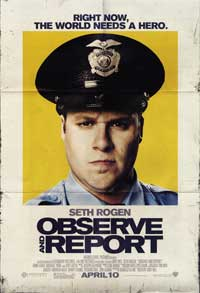 Observe and Report - 43 x 62 Movie Poster - Bus Shelter Style E
