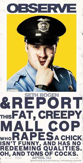 Observe and Report - 20 x 40 Movie Poster - Style A