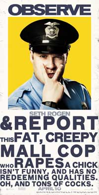 Observe and Report - 30 x 60 Movie Poster - Style A