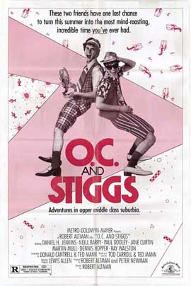 O.C. and Stiggs - 27 x 40 Movie Poster - Style A