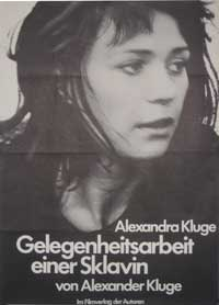 Occasional Work of a Female Slave - 11 x 17 Movie Poster - German Style A