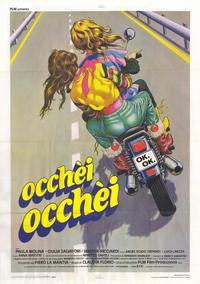 Occhei Occhei - 11 x 17 Movie Poster - Italian Style A