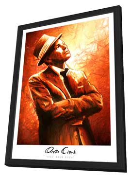 Ocean Clark - 11 x 17 - Ole Blue Eyes - in Deluxe Wood Frame