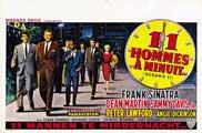 Ocean's 11 - 27 x 40 Movie Poster - Belgian Style E
