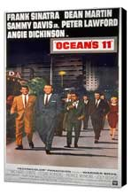 Ocean's 11 - 11 x 17 Movie Poster - Style H - Museum Wrapped Canvas