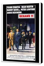 Ocean's 11 - 27 x 40 Movie Poster - Style A - Museum Wrapped Canvas