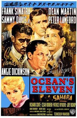 Ocean's 11 - 11 x 17 Movie Poster - Style C