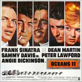 Ocean's 11 - 11 x 17 Movie Poster - Style F