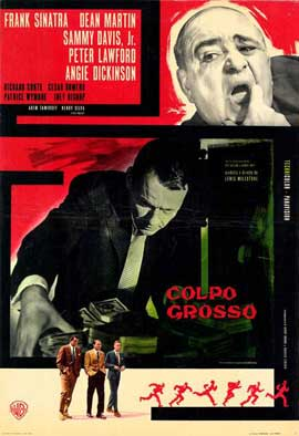 Ocean's 11 - 11 x 17 Movie Poster - Italian Style B