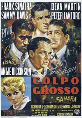 Ocean's 11 - 27 x 40 Movie Poster - Italian Style F