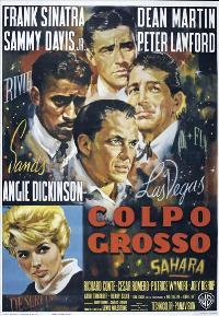 Ocean's 11 - 11 x 17 Movie Poster - Italian Style E