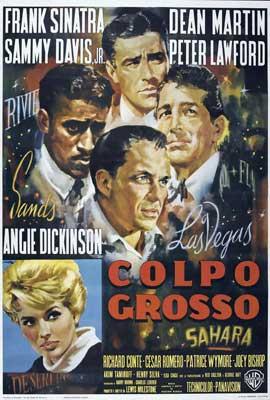 Ocean's 11 - 27 x 40 Movie Poster - Italian Style C