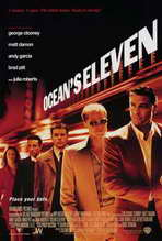 Ocean's Eleven - 27 x 40 Movie Poster - Style D
