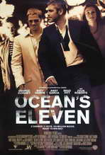 Ocean's Eleven - 27 x 40 Movie Poster - Style E