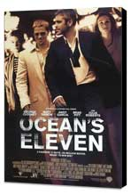 Ocean's Eleven - 27 x 40 Movie Poster - Style E - Museum Wrapped Canvas