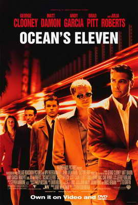Ocean's Eleven - 27 x 40 Movie Poster - Style A