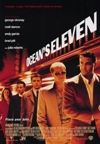 Ocean's Eleven - 43 x 62 Movie Poster - Bus Shelter Style A
