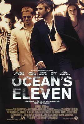 Ocean's Eleven - 27 x 40 Movie Poster - Style E