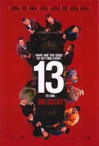 Ocean's Thirteen - 43 x 62 Movie Poster - Bus Shelter Style A