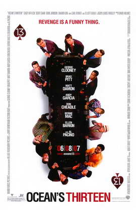 Ocean's Thirteen - 11 x 17 Movie Poster - Style B