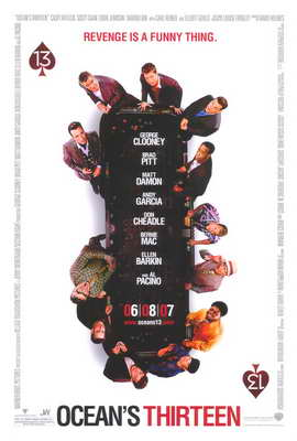 Ocean's Thirteen - 27 x 40 Movie Poster - Style B