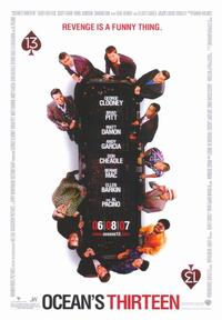 Ocean's Thirteen - 43 x 62 Movie Poster - Bus Shelter Style B