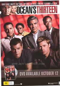 Ocean's Thirteen - 43 x 62 Movie Poster - Bus Shelter Style C