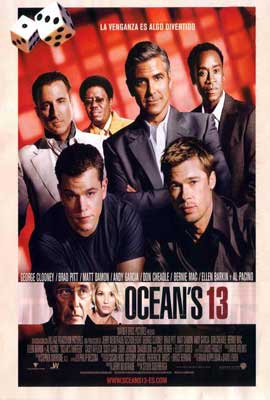 Ocean's Thirteen - 27 x 40 Movie Poster - Spanish Style A