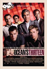 Ocean's Thirteen - 11 x 17 Movie Poster - Style F