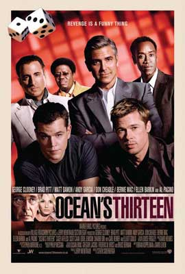 Ocean's Thirteen - 27 x 40 Movie Poster - Style F