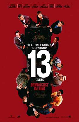 Ocean's Thirteen - 11 x 17 Movie Poster - German Style A