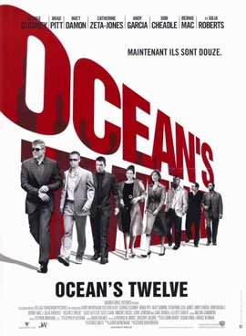 Ocean's Twelve - 11 x 17 Movie Poster - French Style A