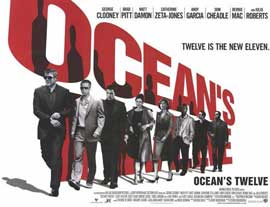 Ocean's Twelve - 11 x 17 Movie Poster - UK Style A