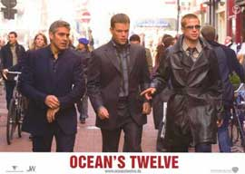 Ocean's Twelve - 11 x 14 Poster French Style D