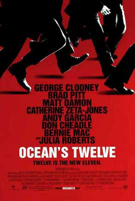Ocean's Twelve - 11 x 17 Movie Poster - Style A