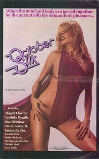October Silk - 11 x 17 Movie Poster - Style A