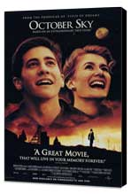 October Sky - 27 x 40 Movie Poster - Style A - Museum Wrapped Canvas