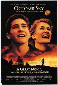 October Sky - 43 x 62 Movie Poster - Bus Shelter Style A