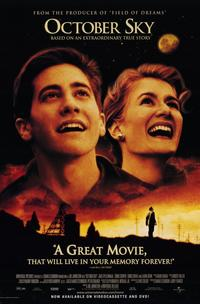 October Sky - 11 x 17 Movie Poster - Style A - Museum Wrapped Canvas