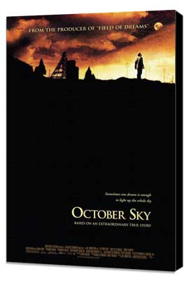 October Sky - 27 x 40 Movie Poster - Style B - Museum Wrapped Canvas