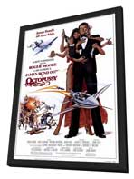 Octopussy - 27 x 40 Movie Poster - Style A - in Deluxe Wood Frame
