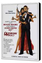 Octopussy - 27 x 40 Movie Poster - Style B - Museum Wrapped Canvas