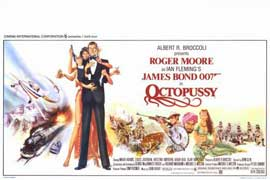 Octopussy - 11 x 17 Movie Poster - Belgian Style A