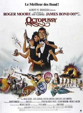 Octopussy - 11 x 17 Movie Poster - French Style A