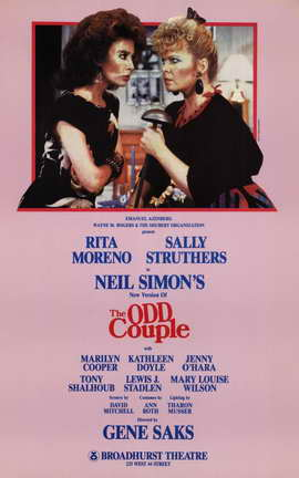 Odd Couple, The (Broadway) - 11 x 17 Poster - Style A