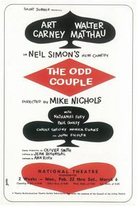 Odd Couple, The (Broadway) - 11 x 17 Poster - Style B